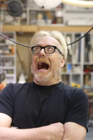 Adam Savage Grunting