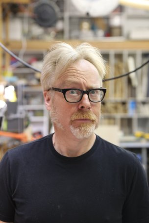 Adam Savage Thoughtul