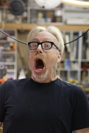 Adam Savage Shouting