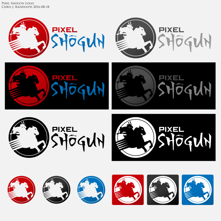 PixelShogun Logo Contact Sheet 20160818